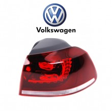 Right Outer Cherry Dark Red LED Tail Light Volkswagen Golf MK6 R