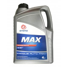 SYNTIX MAX Full Synthetic Motor Oil SN/CF 5W-40 4L