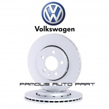 BRAKE DISC ROTOR FRONT FOR VW POLO SEDAN 1.6 / 1.2 TSI (JZW615301N)