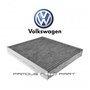 CHARCOAL POLLEN FILTER FOR VOLKSWAGEN POLO VENTO (6R0819653)