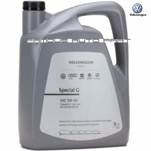 VOLKSWAGEN AUDI SPECIAL G 5W-40 5L ENGINE FULLY SYNTHETIC OIL (GS55502M4)