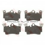 REAR BRAKE PAD FOR VOLKSWAGEN AUDI PORSCHE (GDB1652)