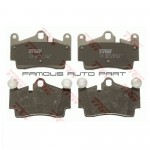REAR BRAKE PAD FOR VOLKSWAGEN AUDI PORSCHE (GDB1653)