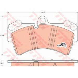 FRONT BRAKE PAD FOR PORSCHE CAYENNE / VW TOUAREG / AUDI (GDB1548)
