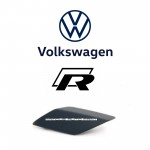 HEADLIGHT WASHER COVER CAP RIGHT VOLKSWAGEN GOLF (R) MK6 2.0 (5K0955110G GRU)