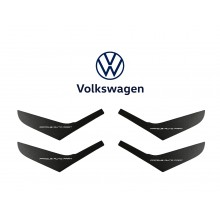 Door Pull Handle Trim Bundle Set Volkswagen Golf MK6