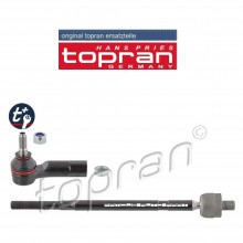 TOPRAN TRACK ROD WITH TIE ROD RIGHT FOR VOLKSWAGEN POLO VENTO (6RD423810)