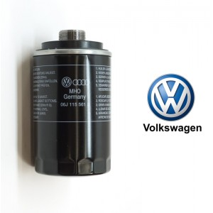 Engine Oil Filter 06J 198 403 Q For Audi A3 A4 A5 TT Volkswagen Golf GTI Passat (06J198403Q)