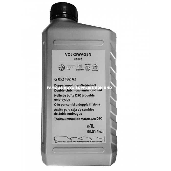 6-Speed DSG Auto Transmission Fluid For Audi TT VW Golf