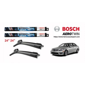 Bosch Aerotwin Multi-Clip Wiper Blades For Mercedes C-Class W204