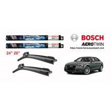 Bosch Aerotwin Multi-Clip Wiper Blades For Audi A4 B8