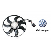 Radiator Fan Motor For Volkswagen Golf MK6 Jetta Passat Audi A3 TT