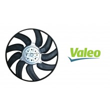 Valeo Radiator Left Side Cooling Fan Motor Audi A4 A5 Q5 S5