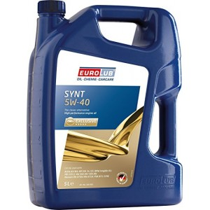 EUROLUB Full Synthetic Engine Oil SN/CF 5W-40 5L