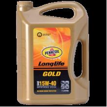 PENNZOIL LONG LIFE DIESEL GOLD SAE 15W-40 API CH-4/SL 7L