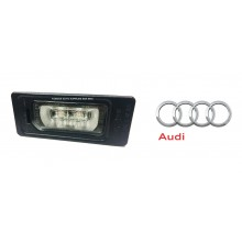 License Plate Light For Audi A4 B8 A5 A6 Q3 Q5 Q7