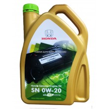 HONDA Full Synthetic SN 0W-20 4L