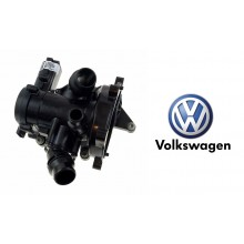 Thermostat Housing Assembly For VW Golf MK7 2.0 Audi A4 A5 Q3 Q5 TT