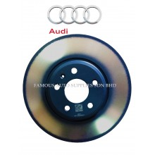 Rear Brake Disc Set 300mm For Audi A4 B8 A5 Q5