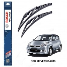 Bosch Advantage Wiper Blades For Perodua Myvi 2005-2015