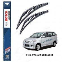 Bosch Advantage Wiper Blades For Toyota Avanza 2003-2011