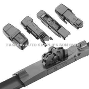 Bosch Aerotwin Multi-Clip Wiper Blades For Audi Q5