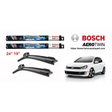 Bosch Aerotwin Multi-Clip Wiper Blades For Volkswagen Golf MK6