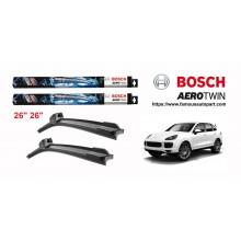 Bosch Aerotwin Multi-Clip Wiper Blades For Porsche Cayenne 2007-2017