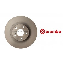 Brembo Front Brake Disc Set Premium UV Coated For Subaru XV Forester Impreza