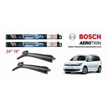 Bosch Aerotwin Multi-Clip Wiper Blades For Volkswagen Touran