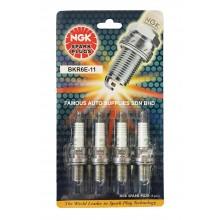NGK Spark Plug BKR6E-11 For Nissan Sentra N16 Proton Waja Honda Jazz City i-DSI