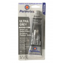 Permatex® Ultra Grey® Rigid High-Torque RTV Silicone Gasket Maker 3.5 OZ