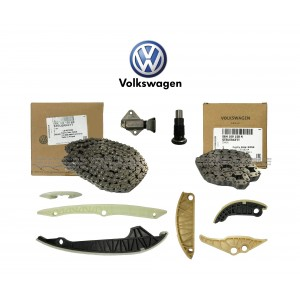 Timing Chain Set Volkswagen Golf Passat Scirocco Tiguan Audi A4 B8 A5 Q5 TT 2.0 (06K109158BE)