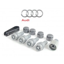Anti-Thief Wheel Lock Bolts For Audi Q3 Q5 Q7