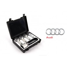 Anti-Thief Wheel Lock Bolts For Audi A3 A4 A5 A6 A7 Q2 TT