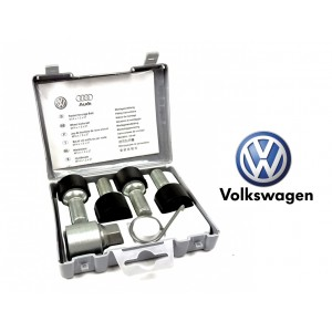 Anti-Thief Wheel Lock Bolts For VW Golf Jetta Passat Polo Scirocco Tiguan Touran