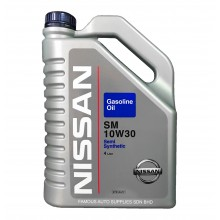 Nissan Motor SM10W-30 Semi Synthetic Engine Oil 4L