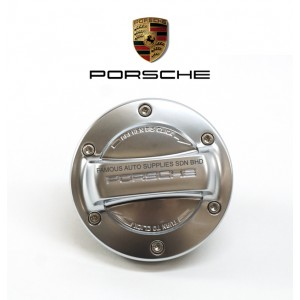 Aluminium Fuel Filler Gasoline Cap With Strap For Porsche