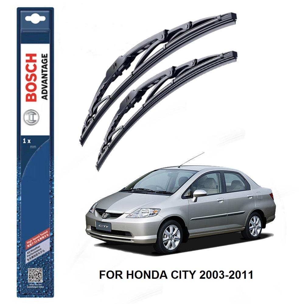 Bosch Advantage Wiper Blades For Honda City 2003 2011