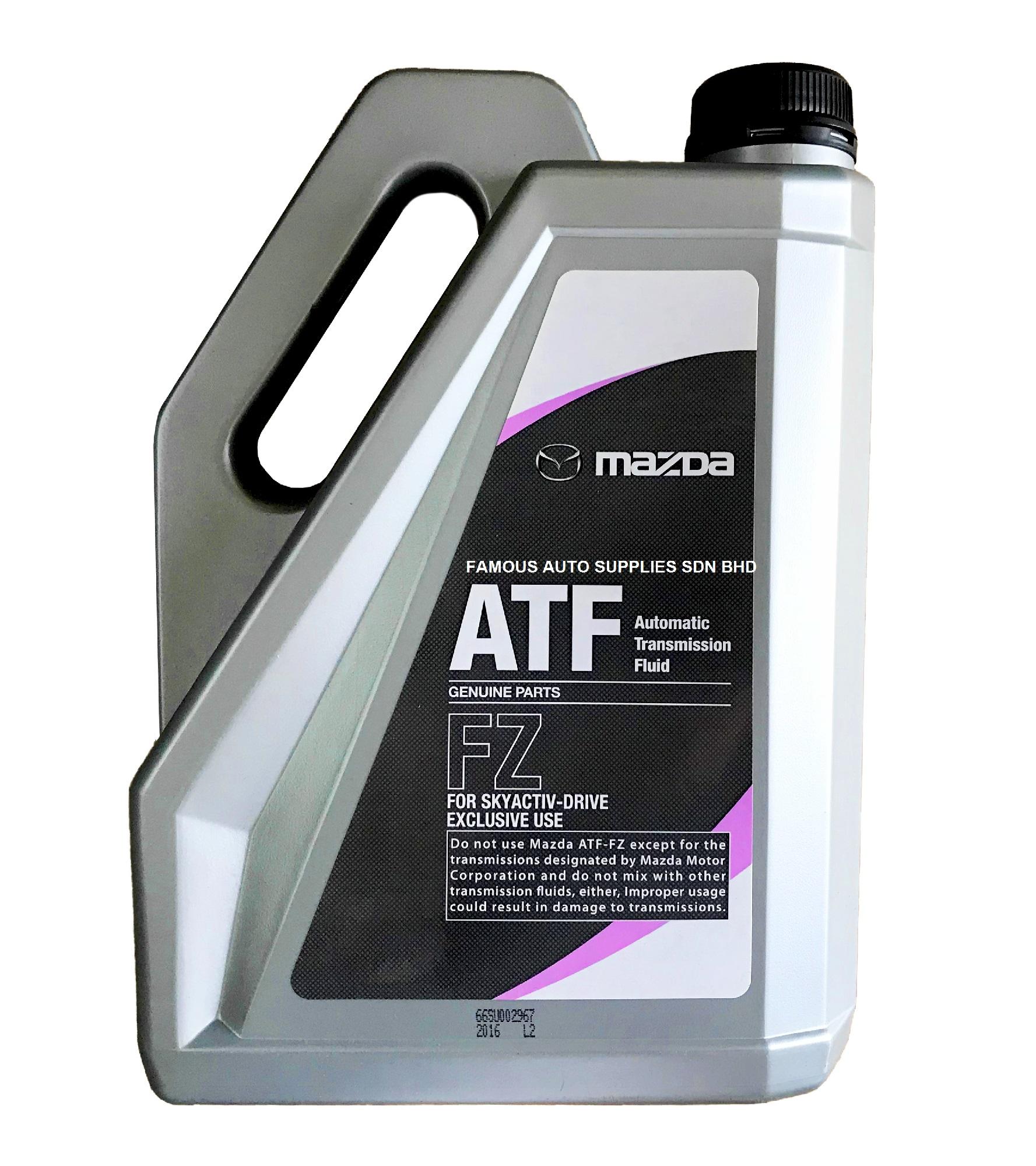 Mazda Atf Fz 4l For Skyactive Drive Transmission